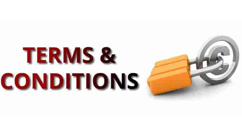 Term and Conditions
